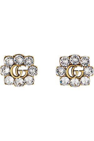 Gucci Crystal Double G earrings