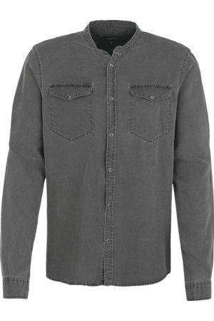 Tigha Heren Overhemd Gent grijs (mid grey)