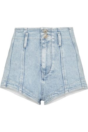 Isabel Marant Deverson high-rise denim shorts