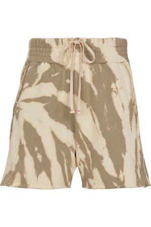 Les Tien Tie-dye cotton jersey shorts