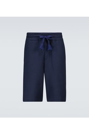 Moncler Genius 5 MONCLER CRAIG GREEN cotton Bermuda shorts