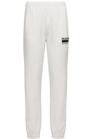 HUGO BOSS Relaxed-fit trainingsbroek van recot²® katoenen sweatstof