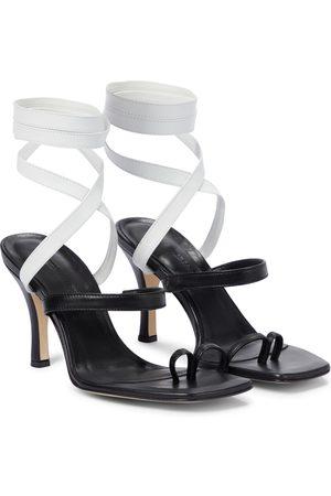 CHRISTOPHER ESBER Leather sandals