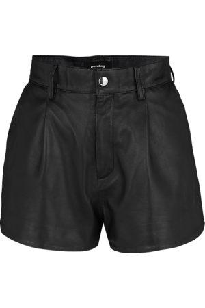 Tigha Dames Shorts - Dames Korte broek Rock n Roll Shorts 21031 zwart (black)