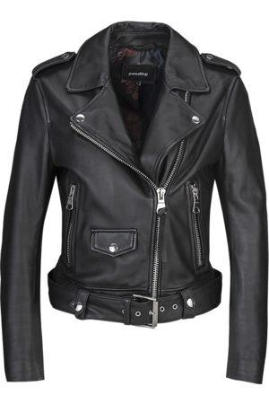 Tigha Dames Biker Leren Jasje All Time Fav Biker 21031 (black)