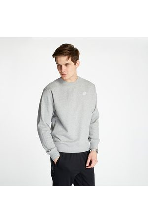Nike Sportswear Club Crewneck Dark Grey Heather/ White