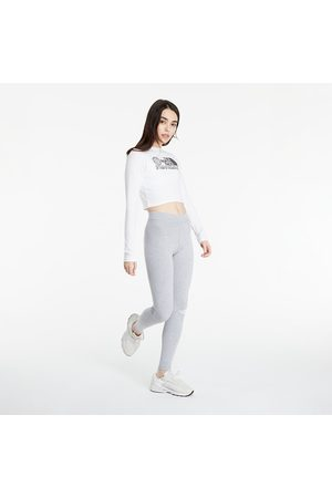 The North Face Dames Shirts - W Coordinates LS Tee TNF White