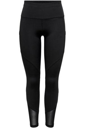 ONLY High Waist Sportlegging Dames Zwart