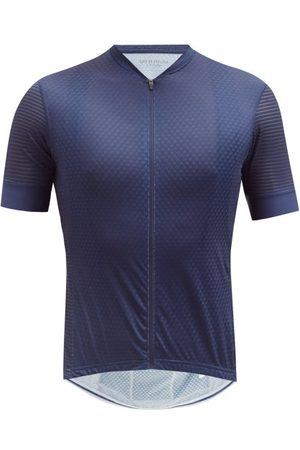 Cafe du Cycliste Micheline Mesh-jersey Cycling Top - Mens - Navy