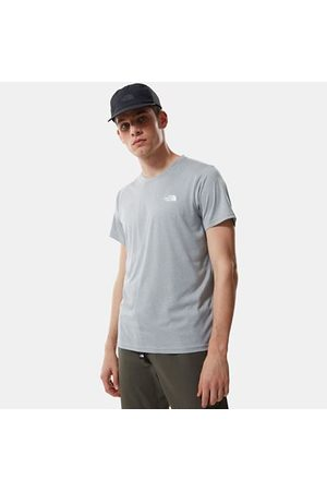 The North Face The North Face Reaxion Amp-t-shirt Voor Heren Mid Grey Heather Größe L Heren