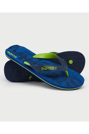 Superdry Heren Slippers - Scuba Grit teenslippers