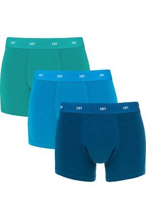 CR7 Boxershorts 3-pack bamboe && groen