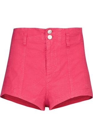Isabel Marant Deverson linen-blend shorts