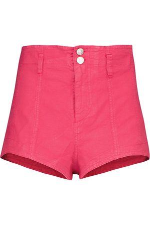 Isabel Marant Deverson linen-blend shorts