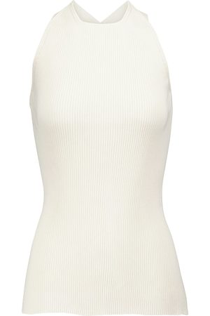 PETAR PETROV Edvina cut-out silk tank top
