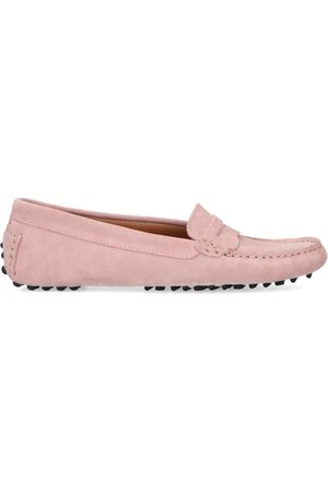 Manfield Suède loafers