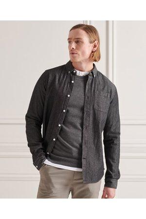 Superdry Heren Denim - Klassiek denim buttondown overhemd