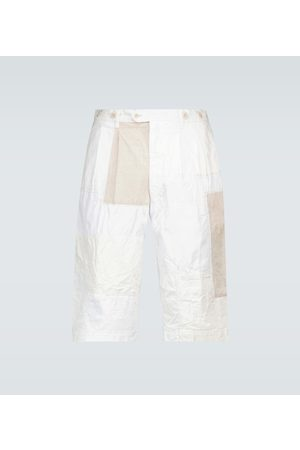 JUNYA WATANABE Straight-fit patchwork shorts
