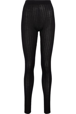 PETAR PETROV Erin high-rise silk leggings