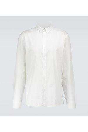 Balmain Monogrammed long-sleeved shirt