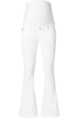 Supermom Dames Bootcut - Flared jeans Flared White