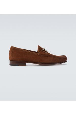 YUKETEN Moc Ischia suede loafers