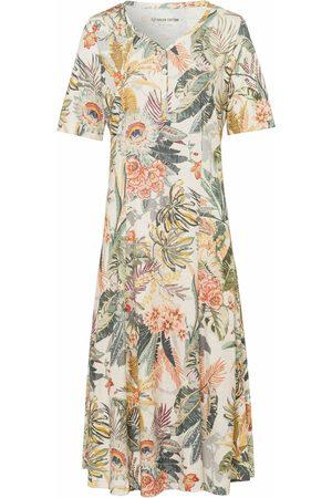 Green Cotton Dames Zakelijke jurken - Jurk