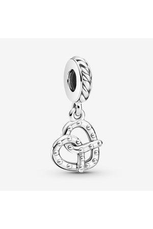 PANDORA Dames Kettingen - Pretzel Dangle Charm, Sieraden uit Sterling zilver, No stone, No color, 799393C00