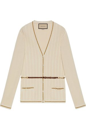 Gucci Dames Cardigans - Double G chain cardigan