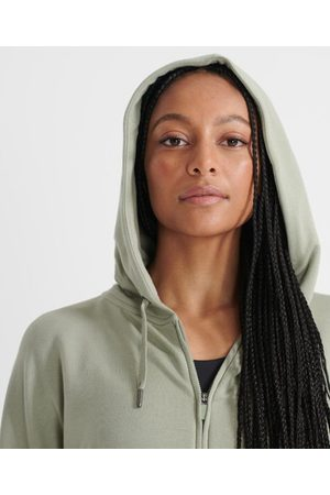 Superdry Dames Sportmode - Sport Flex hoodie met volledige rits