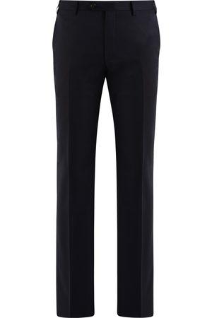 corneliani Heren Pantalons - Pantalon Heren Navy Wool