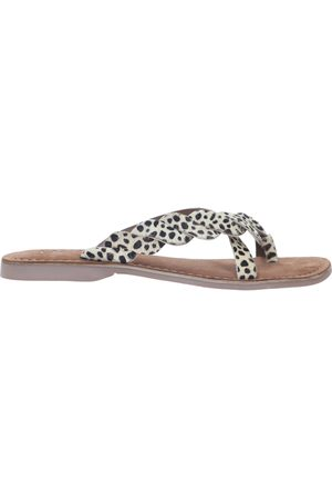 Lazamani Dames Slippers - Slipper /Beige