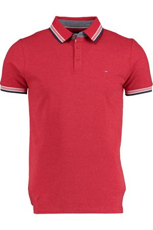 Bos Bright Blue Heren Poloshirts - Brick Polo Fine Pique Effect 21108BR29BO/600 red