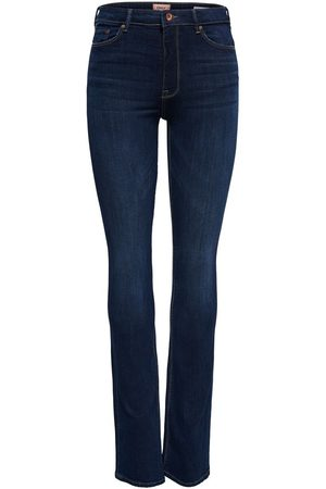 ONLY Dames Bootcut - Mom Olmpaola Life Hw Flared Jeans Dames Blauw