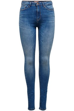 ONLY Dames Skinny - Mama Olmpaola Life Hw Skinny Fit Jeans Dames Blauw