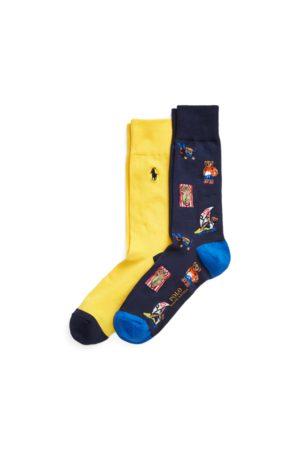 Polo Ralph Lauren Heren Sokken & Kousen - Polo Bear Trouser Sock 2-Pack