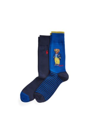 Polo Ralph Lauren Heren Sokken & Kousen - Polo Bear Crew Sock 2-Pack