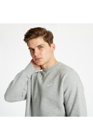 Nike Sportswear Club Fleece Crewneck Dark Grey Heather/ White