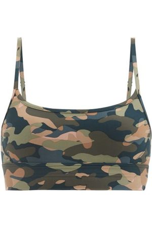 The Upside Himalaya Camouflage-print Low-impact Sports Bra - Womens - Camouflage