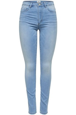 ONLY Mom Onmroyal Life Hw Skinny Jeans Dames Blauw