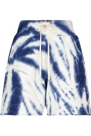 Les Tien Yacht tie-dye cotton shorts