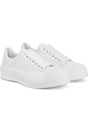 Alexander McQueen Dames Sneakers - Leather sneakers