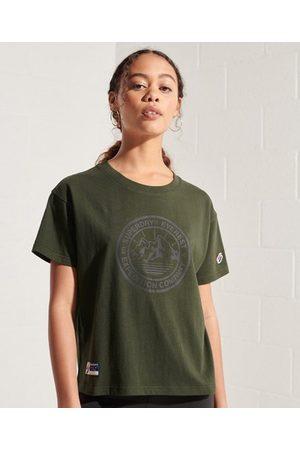 Superdry Expedition T-shirt met wijdvallende pasvorm