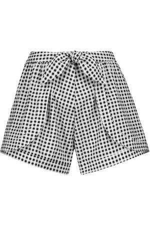 ALEXANDRA MIRO Exclusive to Mytheresa – Natalia gingham cotton shorts