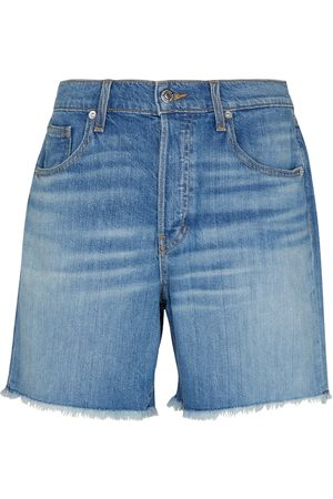 VERONICA BEARD Shiloh mid-rise denim shorts
