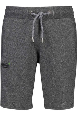 Superdry Joggingshort heren grijs