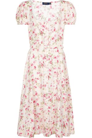 Polo Ralph Lauren Floral linen midi dress