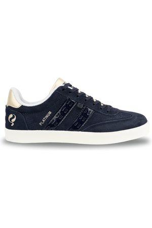 Q1905 Dames Sneakers - Sneaker platinum donker