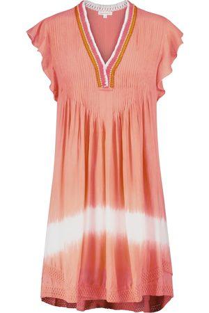 POUPETTE ST BARTH Dames Korte jurken - Exclusive to Mytheresa – Sasha fringed and tie-dye minidress