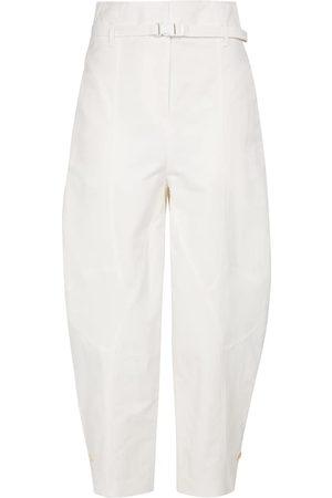 Stella McCartney Daisy high-rise cropped pants